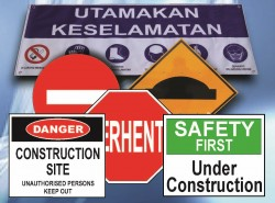 Road Signs / Safety Signs / Prohibition Signs